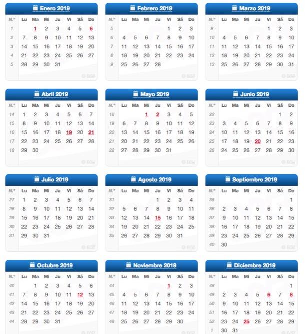 Calendario Laboral 2020 Comunidad Valenciana.Aprobado El Calendario Laboral Para El 2019 Benissa